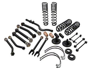 Tuff Country 4 in. EZ-Performance Lift Kit w/o Shocks (07-18 Wrangler JK 4 Door)