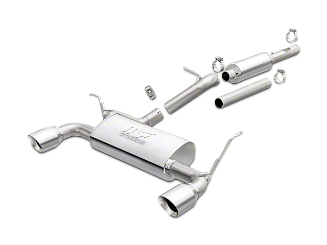 Magnaflow Street Series Cat-Back Exhaust w/ Polished Tips (12-18 Jeep Wrangler JK)