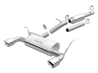 Magnaflow Performance Series Cat-Back Exhaust w/ Polished Tips (12-18 Wrangler JK)
