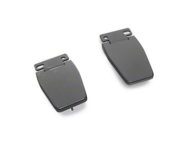 Rugged Ridge Liftgate Hinge Kit - Black (97-06 Wrangler TJ)