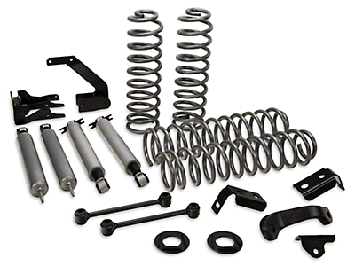 Rough Country 4 in. Suspension Lift Kit w/ Shocks (07-18 Wrangler JK 4 Door)