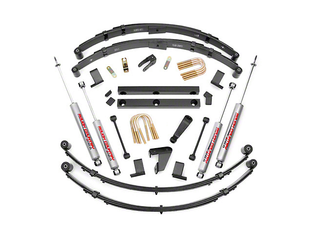 Rough Country 4 in. Suspension Lift Kit w/ Shocks (87-95 Wrangler YJ)