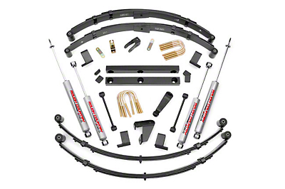 Rough Country 4 in. Suspension Lift Kit w/ Shocks (87-95 Jeep Wrangler YJ)