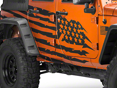 RedRock 4x4 Battle Born Graphic Package (07-17 Wrangler JK)