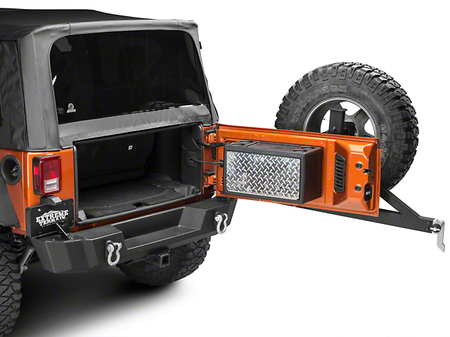 Strike Force Zebra Cargo Vault Storage Box (07-18 Jeep Wrangler JK)