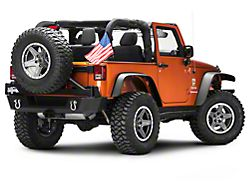USA Flag without Sleeve (87-20 Jeep Wrangler YJ, TJ, JK & JL)