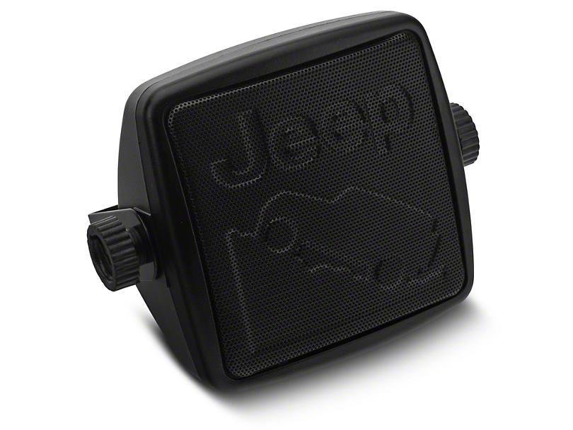 Alterum External 2-3/4 in. Speaker w/ Embossed Jeep Logos (87-20 Jeep Wrangler YJ, TJ, JK & JL)