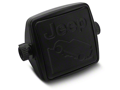 Alterum External 2-3/4 in. Speaker w/ Embossed Jeep Logos (87-18 Wrangler YJ, TJ, JK & JL)