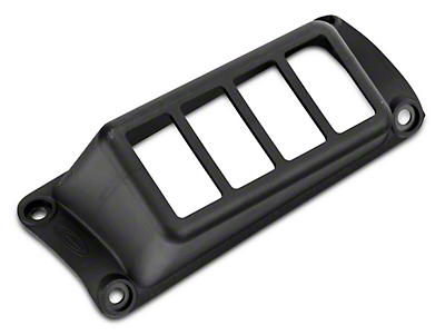 Daystar A-Pillar Switch Panel - Black (07-18 Wrangler JK)