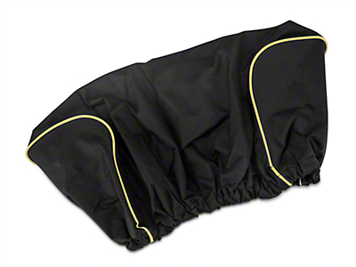 DV8 Off-Road 12,000 lb. Winch Cover - Black (07-18 Wrangler JK; 2018 Wrangler JL)