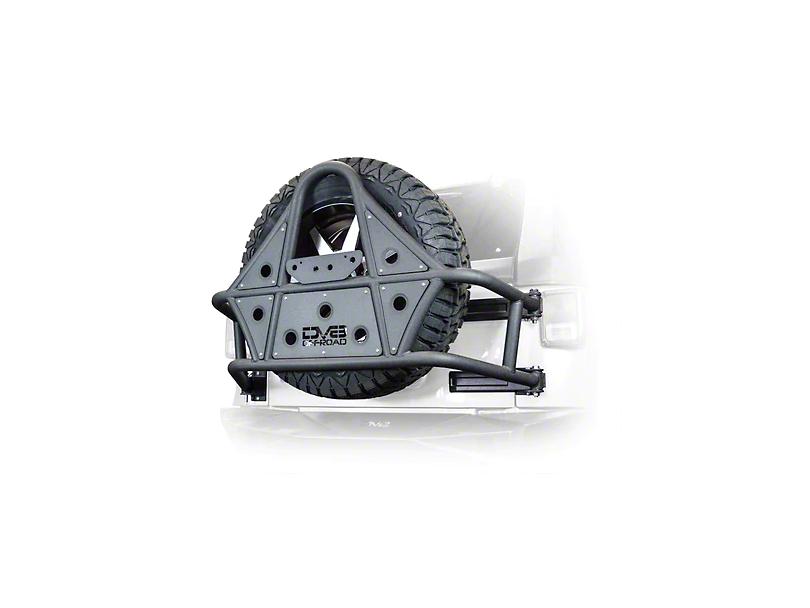 DV8 Off-Road Tire Carrier (07-18 Wrangler JK)