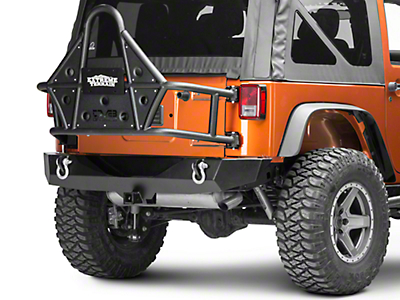 DV8 Off-Road Tire Carrier (07-18 Wrangler JK; 2018 Wrangler JL)