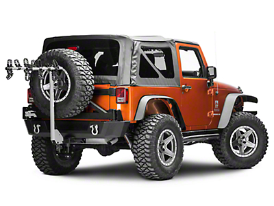 SportRack Ridge Hitch 4 Bike Carrier (87-17 Wrangler YJ, TJ & JK)