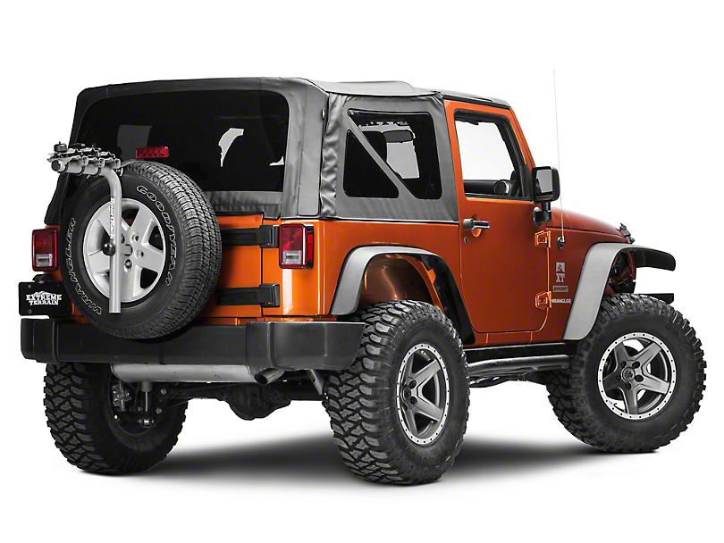 sportrack jeep wrangler pathway spare tire deluxe 3 bike. Black Bedroom Furniture Sets. Home Design Ideas