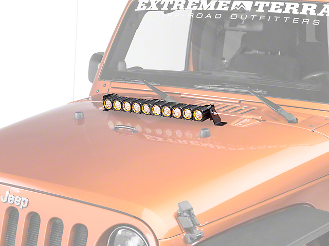 KC HiLiTES 20 in. Flex Array LED Light Bar - Spot/Spread Combo