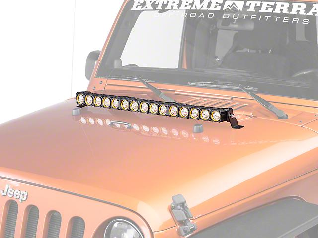 KC HiLiTES 30-Inch Flex Array LED Light Bar; Spot/Spread Combo Beam