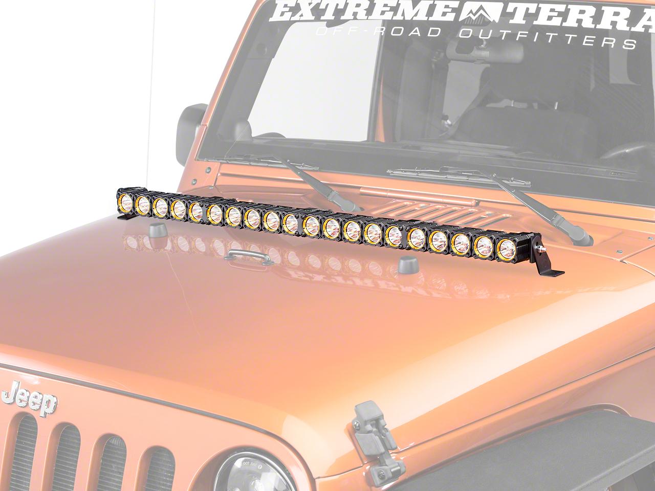 KC HiLiTES 40 in. Flex Array LED Light Bar - Spot/Spread Combo
