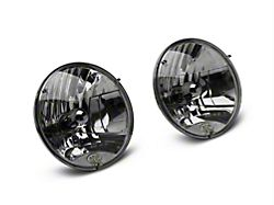 KC HiLiTES 7 in. H4 DOT Lexan 55/60-Watt Headlights - Pair (97-06 Jeep Wrangler TJ)