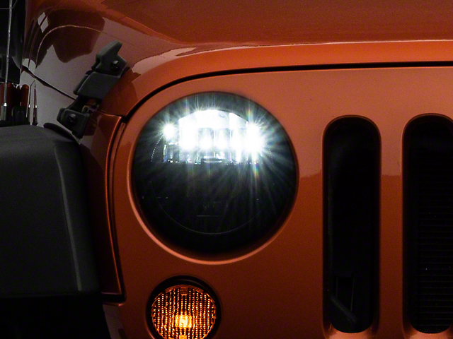 KC HiLiTES Gravity LED 7 in. Headlights (07-18 Jeep Wrangler JK)