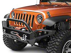 caps front country bumper jk jeep installed rough wrangler for