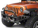 Barricade Trail Force HD Full Width Front Bumper w/ LED Lights (07-18 Jeep Wrangler JK)