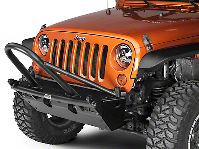 Wilco Offroad MC2X Steel Front Bumper w/ Recovery Bar and Full Stinger (07-18 Wrangler JK)