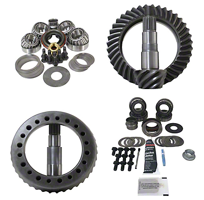Revolution Gear & Axle Dana 30F/44R Ring Gear and Pinion Kit w/ Master Overhaul Kit - 4.88 Gears (07-18 Wrangler JK)