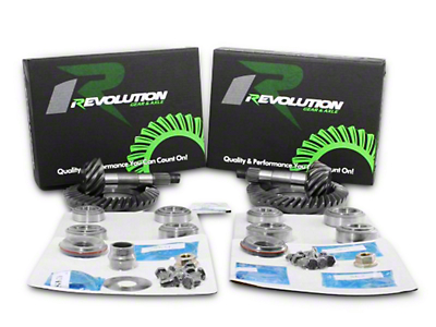 Revolution Gear & Axle 4.11 Gear & Master Overhaul Kit (07-17 Wrangler JK Rubicon)