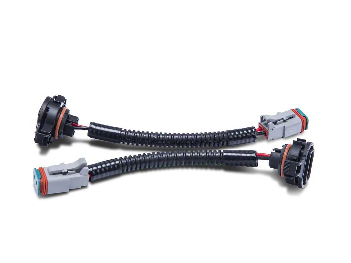 Axial H16 to Deutsch Fog Light Wire Harness Adapter Set (10-18 Jeep on 1998 jeep grand cherokee wiring harness, 2010 toyota tundra wiring harness, 1994 jeep wrangler wiring harness, 2011 jeep grand cherokee wiring harness, 2008 hyundai santa fe wiring harness, 1988 jeep wrangler wiring harness, 2005 chrysler pacifica wiring harness, 2007 jeep wrangler wiring harness, 1999 jeep grand cherokee wiring harness, 2002 jeep wrangler wiring harness, 2010 dodge charger wiring harness, 2006 jeep wrangler wiring harness, 2004 jeep grand cherokee wiring harness, 2005 jeep wrangler wiring harness, 2000 jeep grand cherokee wiring harness, 1993 jeep wrangler wiring harness, 2010 chevrolet impala wiring harness, 2010 ford escape wiring harness, 2010 honda civic wiring harness, 1991 jeep wrangler wiring harness,