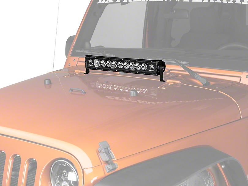 Rigid Industries 20 in. Radiance LED Light Bar w/ Back-Light - Flood/Spot Combo