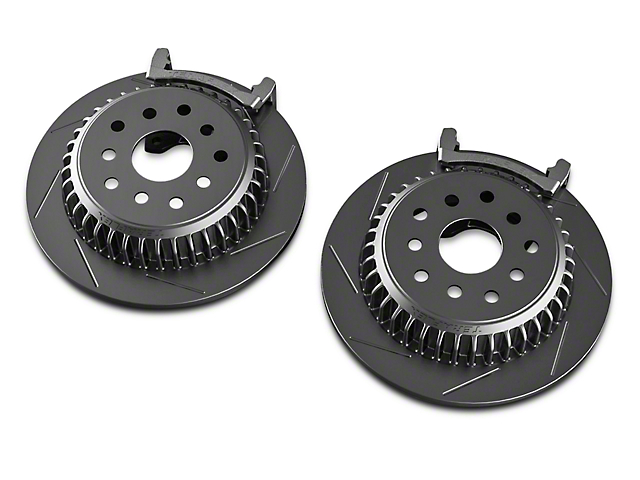 Teraflex Rear Performance Big Slotted Rotor Kit (07-18 Wrangler JK)