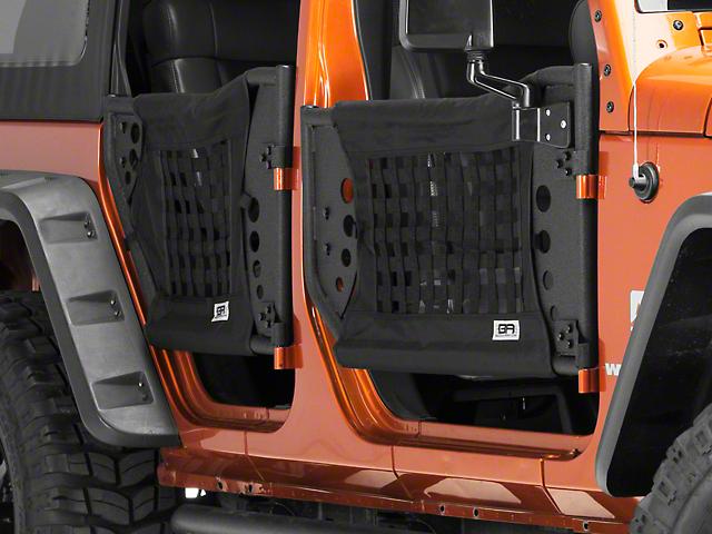 Body Armor 4x4 GEN 3 Trail Doors - Front Only (07-18 Jeep Wrangler JK)