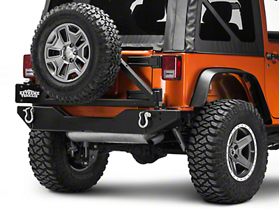 Body Armor 4x4 Swing Arm (07-18 Jeep Wrangler JK w/ Body Armor Rear Bumper)