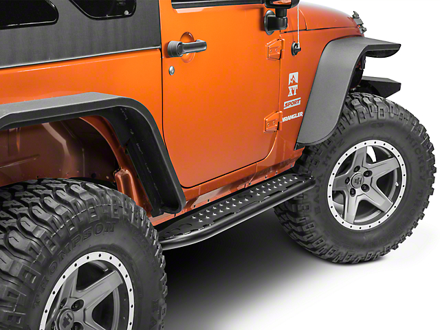 Hyline Offroad Tube Step Rocker Panel 2 DR (07-18 Wrangler JK)