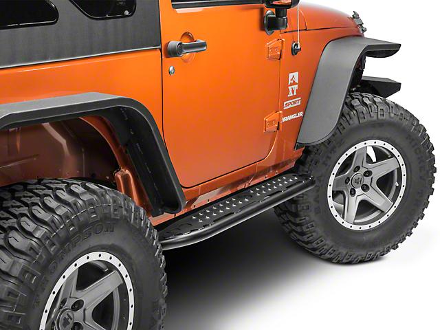 Hyline Offroad Tube Step Rocker Panel 2 DR (07-18 Jeep Wrangler JK)