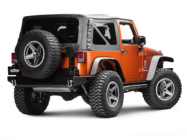 Hyline Offroad Tire Carrier Accessory Mount Arm (07-18 Jeep Wrangler JK)