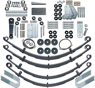 Rubicon Express 4.5 in. Extreme-Duty Suspension System w/o Shocks (87-95 Wrangler YJ)