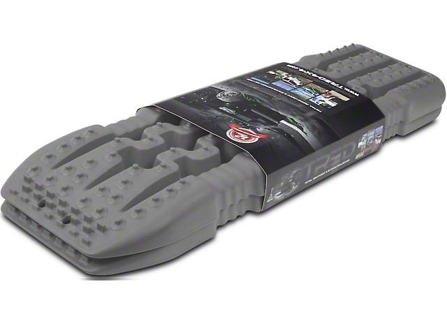 TRED 1100 Traction Boards; Gun Metal Gray