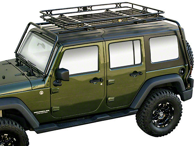 Kargo Master Wrangler Congo Rack Package 50430 07 18 Jeep