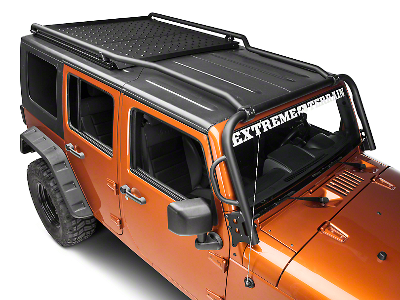 Kargo Master Lo-Pro Mod-Rak System (07-18 Jeep Wrangler JK 4 Door)