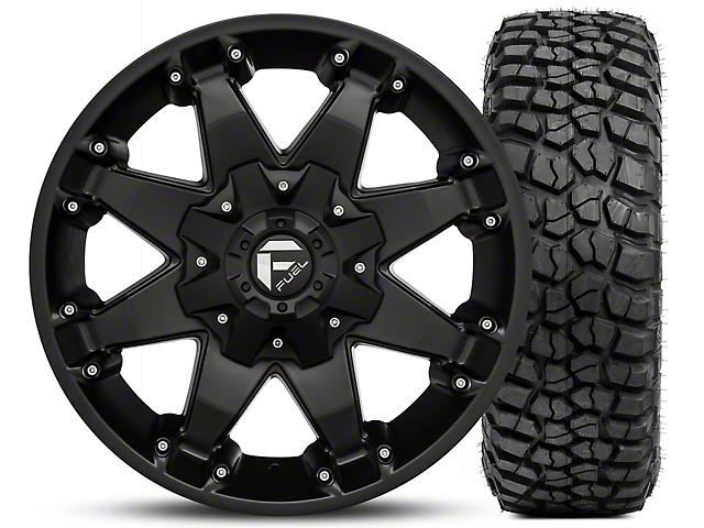 Jeep Jk Mud Terrain Tires 2007 2018 Wranglers Extremeterrain >> Fuel Wheels Jeep Wrangler Octane Matte Black 17x8.5 and BF Goodrich Mud Terrain T/A KM2 305/70 ...