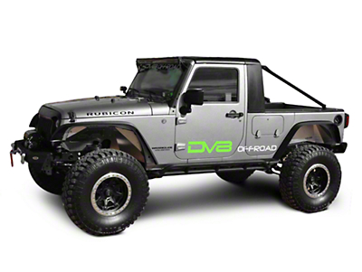 DV8 Off-Road Truck Conversion (07-18 Wrangler JK 4 Door)