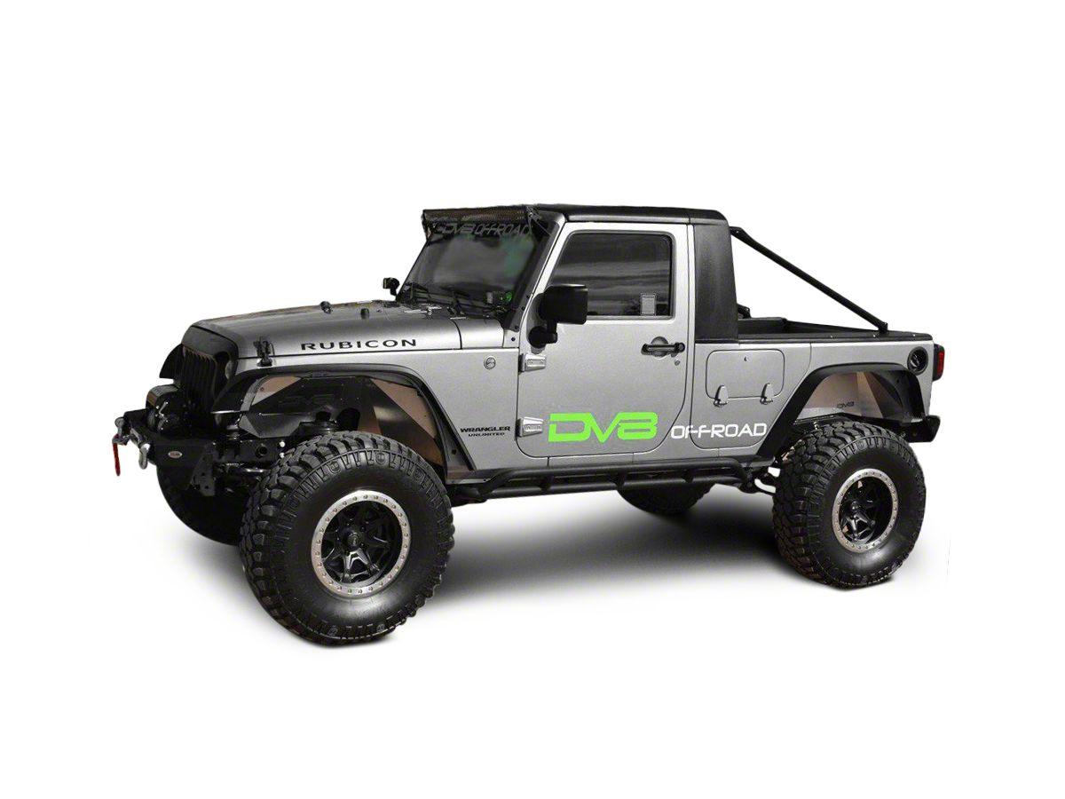 DV8 Off-Road Truck Conversion (07-18 Jeep Wrangler JK 4 Door)