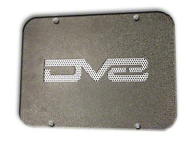 DV8 Off-Road Tramp Stamp Rear Tailgate Cover Plate (07-18 Wrangler JK)