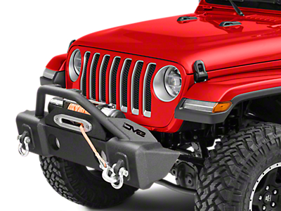 DV8 Off-Road FS-13 Hammer Forged Stubby Front Bumper w/ Fog Light Provisions (2018 Jeep Wrangler JL)