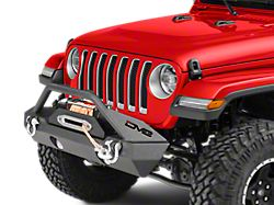 DV8 Off-Road FS-15 Hammer Forged Stubby Front Bumper w/ Fog Light Openings (18-20 Jeep Wrangler JL)