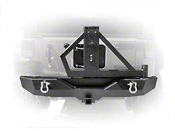 DV8 Off-Road RS-2 Single Action Rear Bumper & Tire Carrier (07-18 Jeep Wrangler JK)