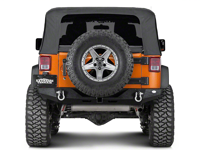 DV8 Off-Road RS-6 Full Length Rear Bumper (07-18 Jeep Wrangler JK)