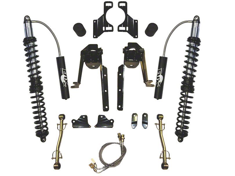 SkyJacker 3.5-6 in. LeDuc Series Front Coilover Suspension Lift Kit (07-18 Jeep Wrangler JK)