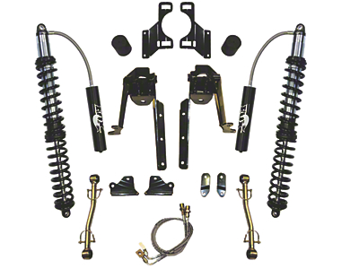 SkyJacker 3.5-6 in. LeDuc Series Front Coil Over Suspension Lift Kit (07-18 Wrangler JK)